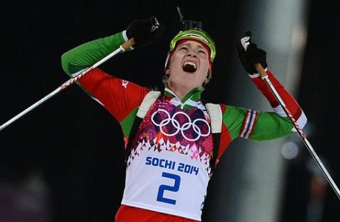 Домрачева стала трехкратным Олимпийским чемпионом Сочи-2014