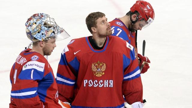 Хоккеисты разочаровали российских болельщиков