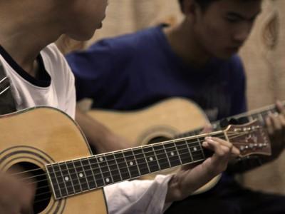 Музыкальная школа в Лаосе