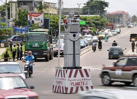 С улиц столицы Конго пропали регулировщики