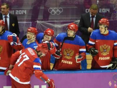 Российская хоккейная сборная вышла в четвертьфинал
