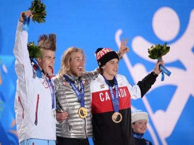 Первые медали Олимпийских игр