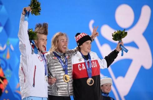 Первые медали Олимпийских игр-2014