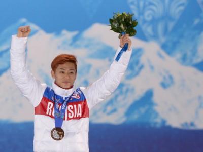 Виктор Ан завоевал в шорт-треке бронзу