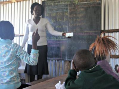 Тестирование учителем