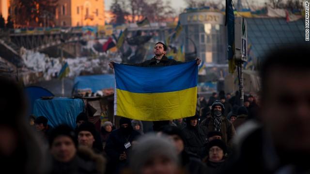Украинские протестующие прекращают «оккупацию»