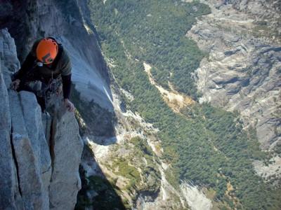 Места для экстремального спорта: скалолазание в парке Йосемити