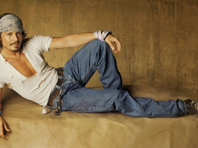Джонни Депп: образец небрежности в одежде