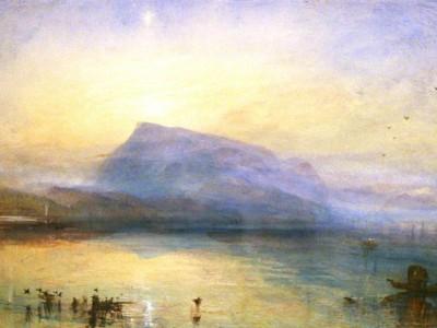 «Голубая Риги. Восход» Уильям Тернер