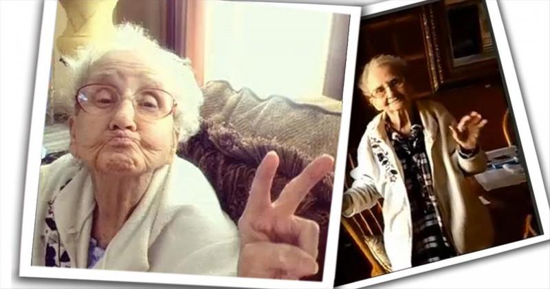 Бабушка, которая борется с раком в режиме онлайн