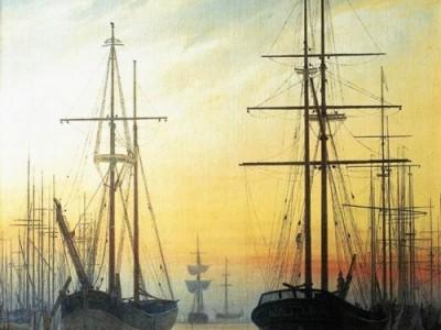 Климат на картинах: Каспар Давид Фридрих. Вид на гавань