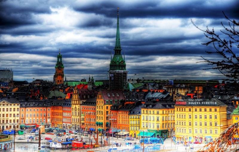Стокгольм – город, в котором вся Швеция