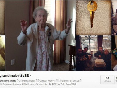 Бетти Симпсон — современная бабушка