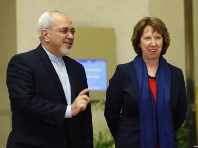 Кэтрин Эштон и глава МИД Ирана