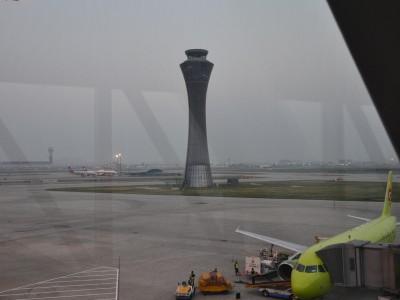 В Китае. Самолет S7. Фотограф Денис Шимин