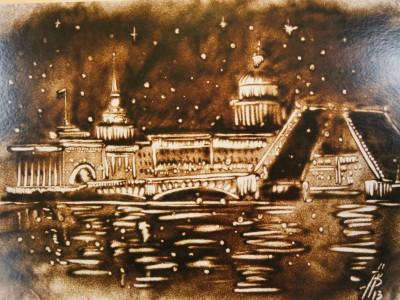 Санкт-Петербург песком