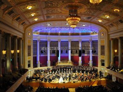 Зал в форме обувной коробки — Концертхаус в Берлине