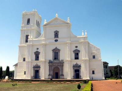 Гоа. Собор Святой Екатерины.
