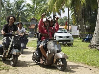 Старые Vespa в Индонезии