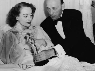 Джоан Кроуфорд получила свой «Оскар» в больнице
