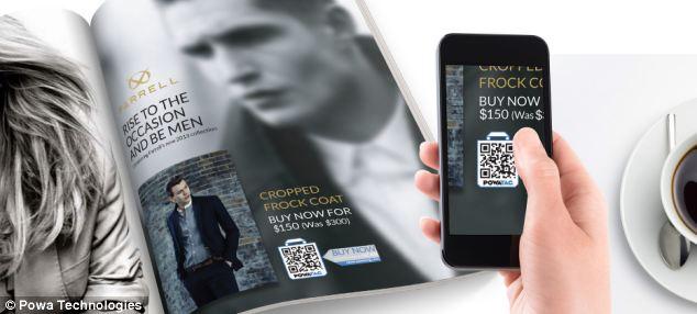 Покупайте продукты с помощью смартфона