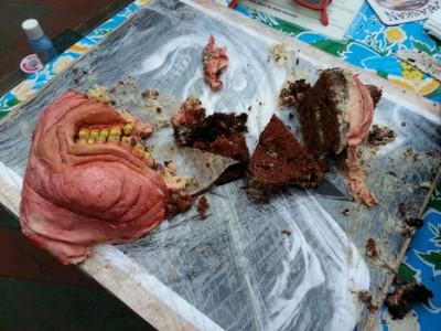Ужасающий десерт