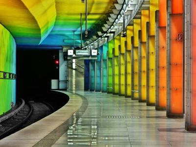 Фотографии в метро. Мюнхен