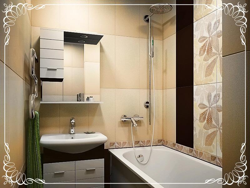 Интерьер ванной в хрущевке фото