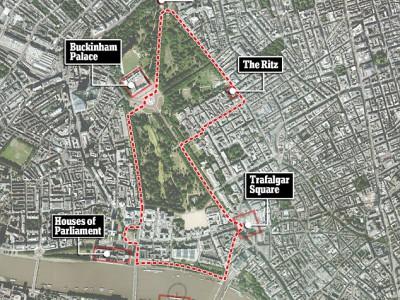 Улицы Лондона заполонят болиды Формулы-1