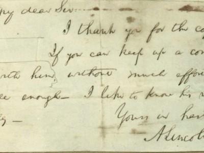 Письма Авраама Линкольна