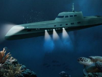 Новые ощущения под водой: подводная лодка, которая катает туристов по глубинам океана
