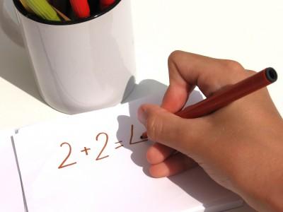 Жесты помогут детям учить математику
