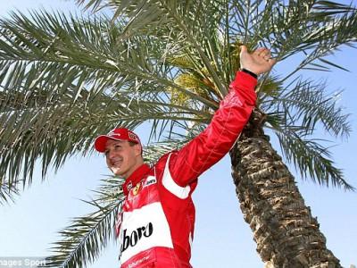 Поворот Михаэля Шумахера  на Гран-при Бахрейна
