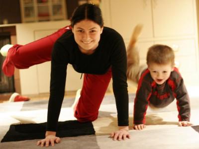 Физическая активность мам