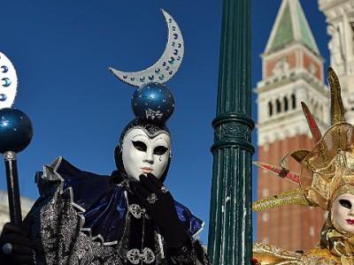 Таинственные маски Венецианского карнавала