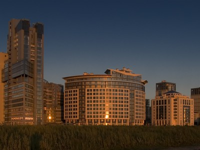 Проект новостройки в районе Санкт-Петербурга