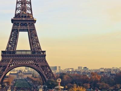 Экологическая акция в Париже