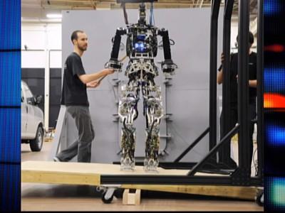 Робот-пожарный