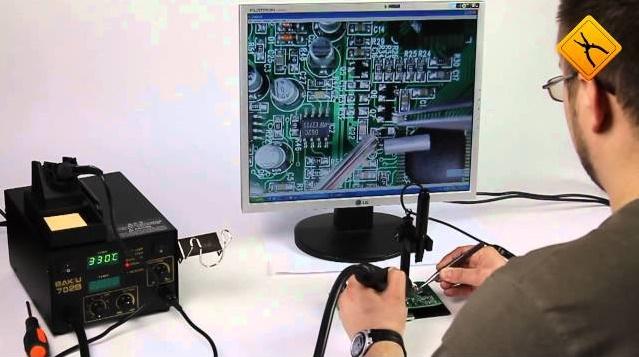 Недорогой usb микроскоп может заменить дорогое оборудование для радиолюбителей