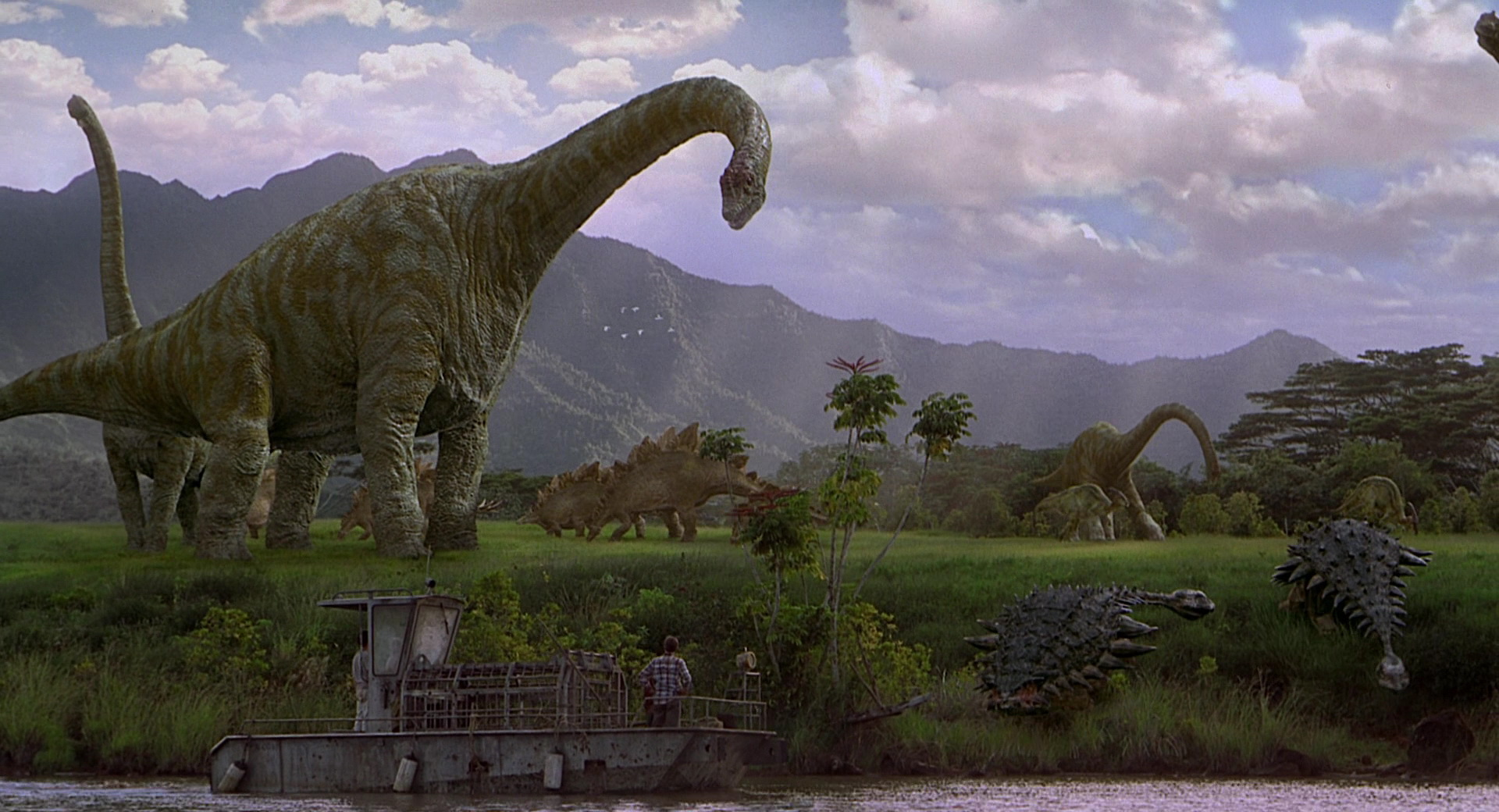 jurassic period The name jurassic conjures images of tremendous dinosaurs roaming the earth in fact, during this period, dinosaur species became diverse and many grew to extraordinary size.