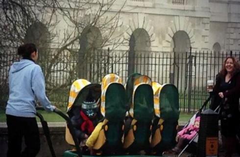 Шестиместный багги для малышей