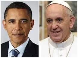 Долгожданная встреча Обамы и Франциска I