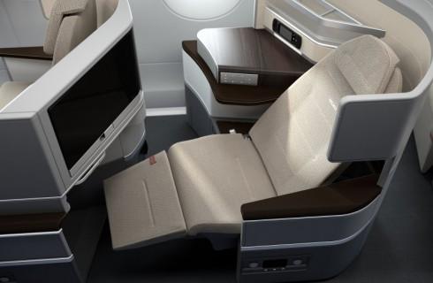 Интерьер самолетов для интровертов