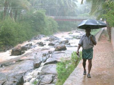 Дождь в Индии