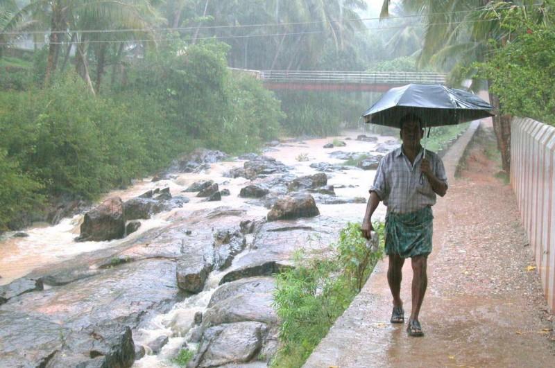 Место планеты, где можно спастись от дождей