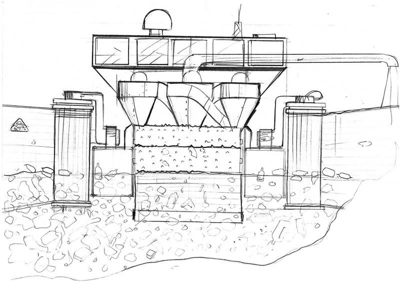 Гигантский вакуум очистит воду