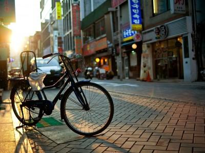 Общественные велосипеды в Китае