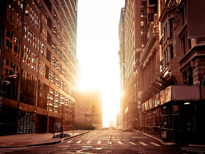 Нью-Йорк без автомобилей