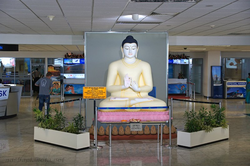 Аэропорт Коломбо на Шри-Ланке