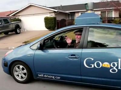Автомобиль с автопилотом компании Google